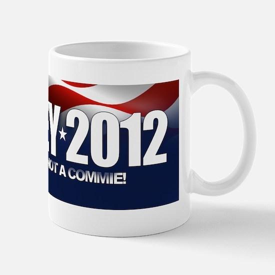 Romney 2012 - Not a Commie Mug