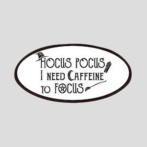 Hocus Pocus, I need Caffeine to Focus Patch