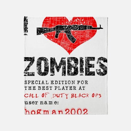 Custom for hogman2002 Throw Blanket