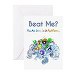 Billiard Sea Dragons Greeting Cards (Pk of 20)