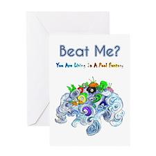 Billiard Sea Dragons Greeting Card