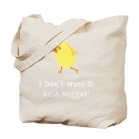 Chicken Nugget Tote Bag