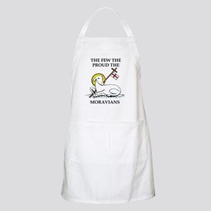 The Few the Proud the Moravians Apron
