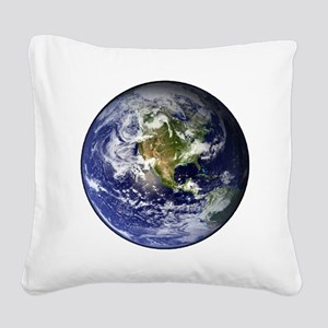 earthWesternFull Square Canvas Pillow