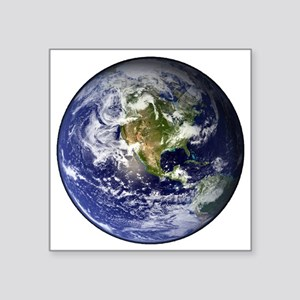 "earthWesternFull Square Sticker 3"" x 3"""