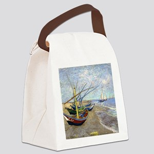 Shower VG Fishing Canvas Lunch Bag