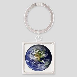 earthWesternFull Square Keychain