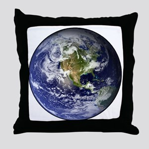 earthWesternFull Throw Pillow