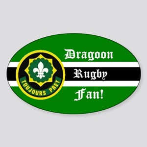 Dragoon Rugby Oval Sticker