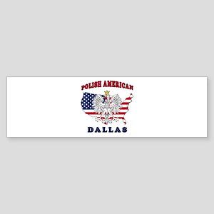 Dallas Texas Polish Sticker (Bumper)