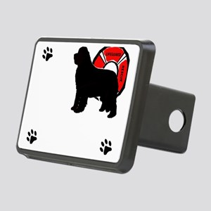 Newfoundland Water Rescue Rectangular Hitch Cover