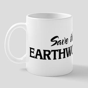 Save the EARTHWORMS Mug
