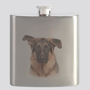 Mans Best Friend Flask