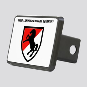 SSI - 11th Armored Cavalry Rectangular Hitch Cover