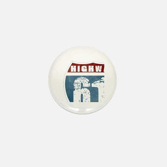 Highway 61 Mini Button