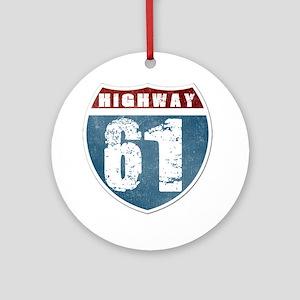 Highway 61 Round Ornament