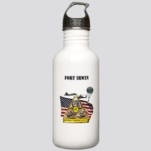 Fort Irwin with Text Stainless Water Bottle 1.0L