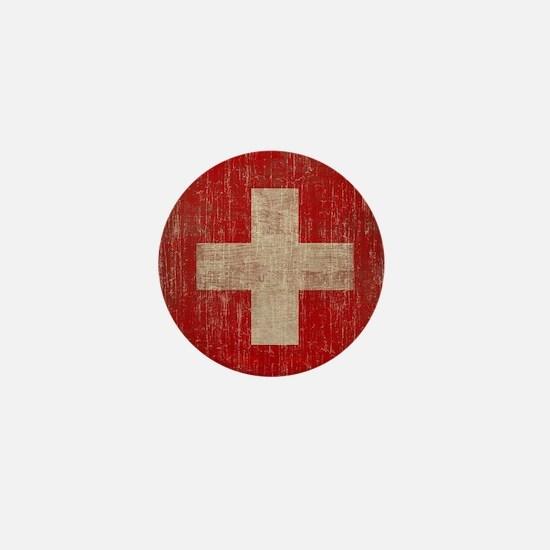 Vintage Switzerland Mini Button