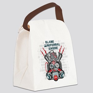 referral engine Canvas Lunch Bag