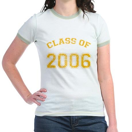 Class of 2006 Jr Ringer Tee/yellow text