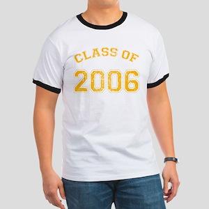 Class of 2006 Ringer T-shirt/yellow text