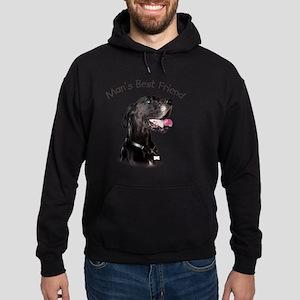 Mans Best Friend Hoodie (dark)