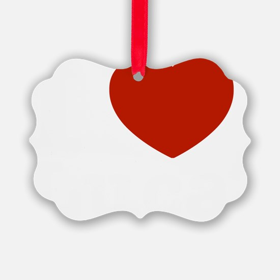 I Love Luca Ornament