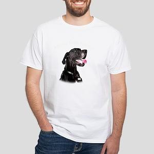 Mans Best Friend White T-Shirt