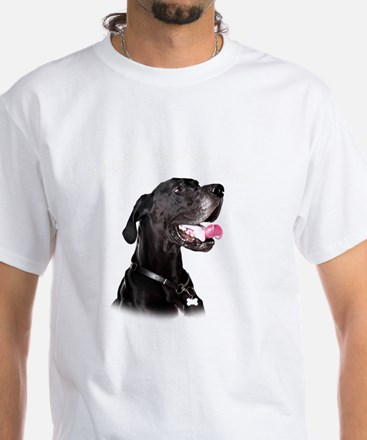 Mans Best Friend White T-Shirt