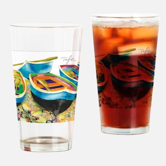 Row Row Drinking Glass