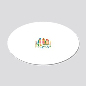 Online 20x12 Oval Wall Decal
