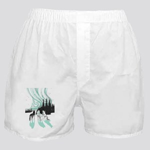 Siberian aurora Boxer Shorts