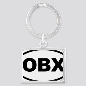 OBX, Outer Banks North Carolina Landscape Keychain
