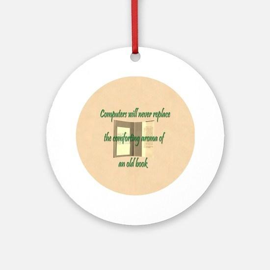 Button Lg Round Ornament