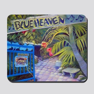 Blue Heaven New View framed print Mousepad