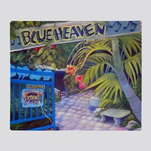 Blue Heaven New View framed print Throw Blanket