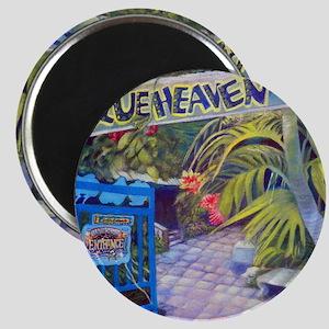 Blue Heaven New View framed print Magnet