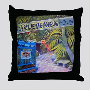 Blue Heaven New View framed print Throw Pillow