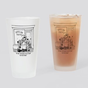 $10 a Pound for the Tin Man Drinking Glass