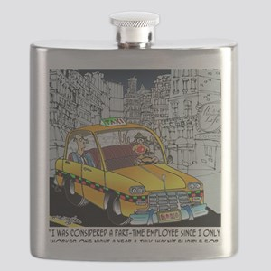 Reindeer Cabbie Flask