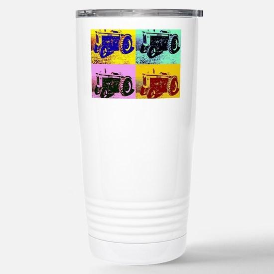 BeFunky_PopArt_11 Stainless Steel Travel Mug