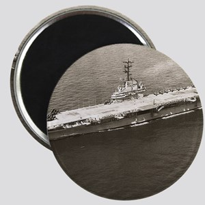 uss lake champlain cva framed panel print Magnet