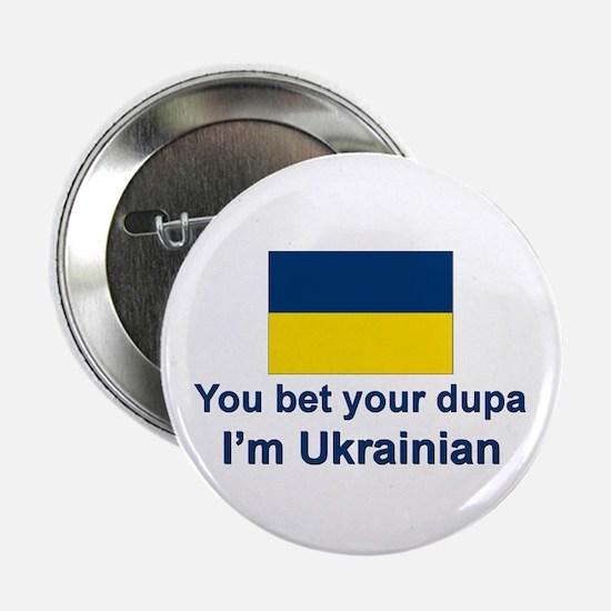 "Ukrainian Dupa 2.25"" Button (10 pack)"