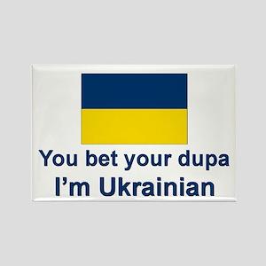Ukrainian Dupa Rectangle Magnet