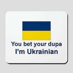 Ukrainian Dupa Mousepad
