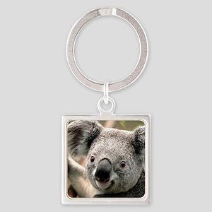 koala Square Keychain