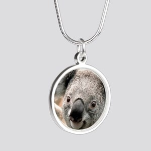 koala Silver Round Necklace