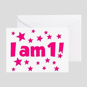 I am 1! Greeting Card
