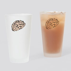 Funnier Dirty Mind Drinking Glass