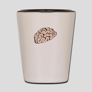 Funnier Dirty Mind Shot Glass